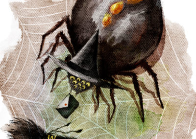 Witch's Call: Spider